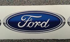 Two Blue Ford stickers 125mm x 50mm