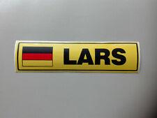 """Aufkleber Sticker * 4 Vornamen mit """"L"""" * Trucker Tuning * Abziehbild Schild"""