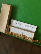 Bioflow Elite Women's Gold Colour Magnetic Bracelet Healing Brand New In Box