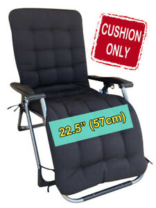 """FOUR SEASONS (CUSHION ONLY) for Extra Wide (22.5"""") Zero Gravity Chair Recliner"""
