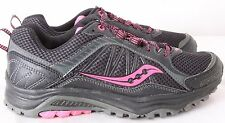 Saucony S15259-15 Excursion TR 9 Athletic Running Black Shoes Women's US 7W