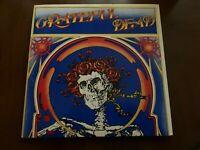 GRATEFUL DEAD LIVE SKELETON VINYL LP WARNERS 2LP'S MAMA TRIED WHARF RAT BERTHA