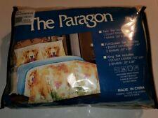 The Paragon Golden Retriever Duvet Set Full/Queen 2 Shams Brand New Easy Care