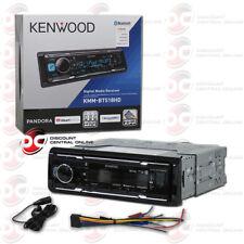 NEW KENWOOD KMM-BT518HD 1DIN CAR DIGITAL MEDIA STEREO W/ BLUETOOTH USB HD RADIO