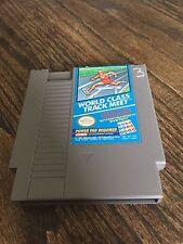 World Class Track Meet Original Nintendo NES Game Cart NE2