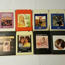 8 Track Cassette Tapes Country Music Women Singers   Cline Judds Anderson Gayle