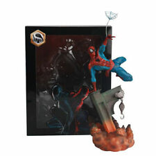 Marvel SpiderMan Spider Man Sence Jump Ver PVC Action Figure Statue 3D Model c