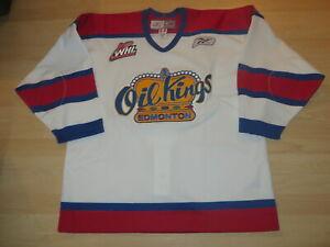 AUTHENTIC ON-ICE Reebok Edmonton Oil Kings WHL CHL white hockey jersey Men 54