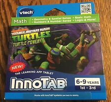 VTech InnoTab  Teenage Mutant Ninja Turtles New 6-9 years