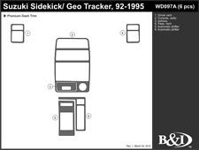 GEO TRACKER 1992 1993 1994 1995 DASH TRIM KIT a