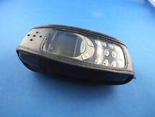 Tasche Hülle Nokia 3310 3330 Handytasche Nostalgie Case Klassik Leder Schwarz