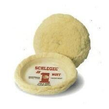 """Schlegel Buffing Pad Wool 8"""" Diameter Cutting Pad Hook and Loop  Ea 175C"""
