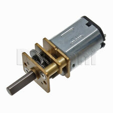 6V DC 300 RPM High Torque Open Gearbox Electric Motor