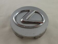 Lexus Wheels Silver / Chrome Logo Custom Wheel Center Cap