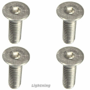 """Flat Head Socket Cap Screw Allen 316 Stainless Steel #6-32 x 2"""" Qty 50"""