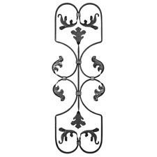 Zierelement Rosette aus Stahl motive Zierblume Tor 034 Zaun 510x690mm