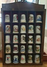 Vintage Thimbles And Thimble House