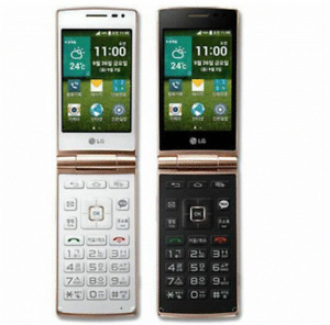 4G LTE LG Wine Smart D486 4G ROM 1G RAM Android Flip Phone WIFI GPS Smart Phone