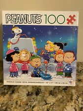 "New Peanuts Puzzle ""Festive Fun"" 100 Piece 15"" X 11"" Christmas SEALED!"
