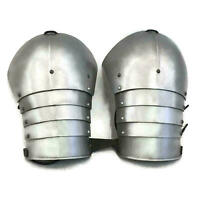 medieval multiplate LARP shoulders armour warrior costume halloween gift item