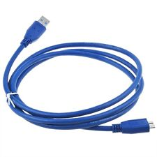 USB 3.0 Cable for WD Western Digital My Book Office Edition WD5000H1B-00 Drive