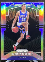 2019-20 Panini Prizm Silver Matisse Thybulle #290 Rookie RC 76ers