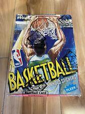 1989-90 Fleer Basketball BBCE Sealed Box 3rd Year Michael Jordan