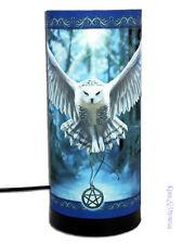 "Anne Stokes Mood Lamp: ""Awaken Your Magic"" Owl Pagan Wicca"