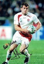 Mark CUETO Signed Autograph 12x8 Photo AFTAL COA RUGBY World Cup 2007