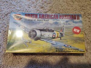 AIRFIX 02057 1:72 WWII RAF NORTH AMERICAN HARVARD II TRAINER MODEL KIT oa