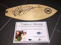 CARISSA MOORE SIGNED AUTOGRAPHED CUSTOM MINI SURFBOARD SURFER SURF WSP-PROOF COA