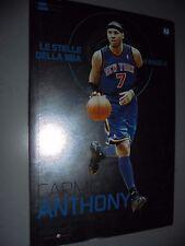 LIBRO BOOK N° 22 CARMELO ANTHONY LE STELLE DELLA NBA AI RAGGI X