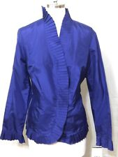 Doncaster Collection Silk Ruffled Women's Blouse Size 14M NEW