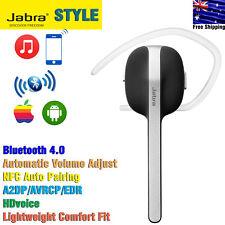 Wireless Bluetooth A2DP Headset Jabra STYLE Mono SingleEar Earbud Iphone Android