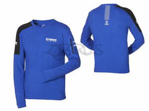 Genuine Yamaha 2020 Paddock Blue Men's Long Sleeve Top