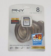 PNY Technologies - 8GB SDHC CLASS 10 CARD 20 MBPS Professional