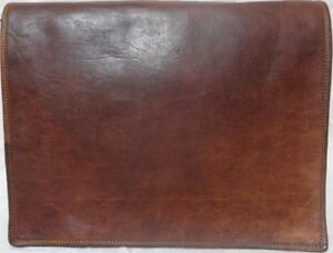 Bag Leather Women's Vintage Shoulder Messenger Satchel School Travel Laptop New