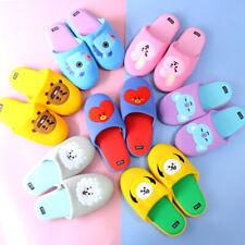 More details for bts bt21 comfy colourful slippers koya rj chimmey shooky tata mang kooky