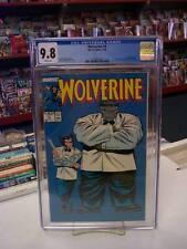 WOLVERINE #8 (Marvel Comics, 1989) CGC Graded 9.8 ~ HULK ~ White Pages
