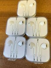 Lot of 5  Original Apple Earpods Headphones for iPhone Earphones  3.5mm Jack