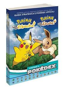 Pokémon Let's Go Pikachu & Eeve Guide Strategic And Pokedex Official Multiplayer