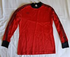 Vintage & Rare Adidas 1970's long sleeved football shirt soccer jersey, size S