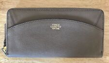 NWT Women's Vince Camuto Ayla Zip Around Leather Wallet, Smokey Quartz (Taupe)