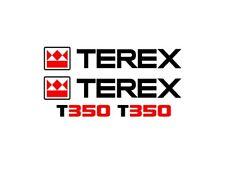 Sticker, aufkleber - TEREX T350