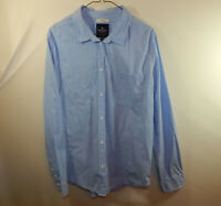 American Eagle Long Sleeve Mens Prep Fit Oxford Dress Shirt Size Large L
