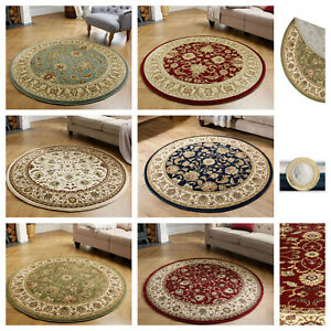 CIRCLE RUGS, SOFT AND DURABLE, CONTEMPORARY & TRADITIONAL DESIGNS, KENDRA