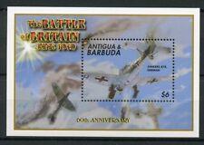 Antigua & Barbuda 2000 Gomma integra, non linguellato SECONDA GUERRA MONDIALE BATTAGLIA D'INGHILTERRA 60th 1v S/S I JUNKERS FRANCOBOLLI