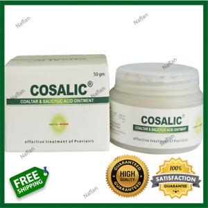 COAL TAR & SALICYLIC ACID OINTMENT For PSORIASIS 50g (2023 Expiry) Cosalic