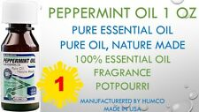 1 Humco Peppermint Oil 100%25 PURE ESSENTIAL NATURAL OIL 1oz PHARMA GRADE 10/2021