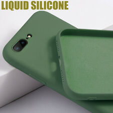 Shockproof Case For iPhone 11 , XS Max XR X 7 8 Soft Liquid Silicone Lens Cover
